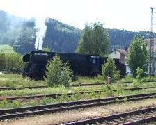 """Steam train """"Schwarzwaldbahn"""" - stock footage"""