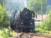 """Stock Video Footage of Steam train """"Schwarzwaldbahn"""""""