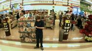 Supermarket timelapse 02 Stock Footage