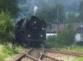 """Steam train """"Schwarzwaldbahn"""" Footage"""