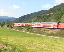 Local Commuter Train Stock Footage