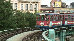 Tram - stock footage