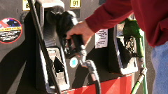 Replacing the Gas Nozzle Stock Footage