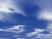 Stock Video Footage of Animated clouds