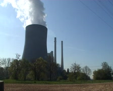 Coal Fired Power Station - stock footage