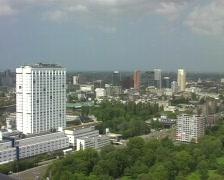 Rotterdam cityview Stock Footage