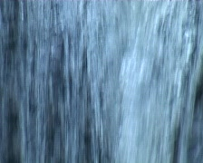Veil of water Stock Footage