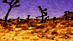 Landscape Painting 05 - HD Stock Footage
