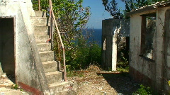 Stock Video Footage of Ruin of an lighthouse in the Philippines