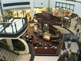 Stock Video Footage of Shopping mall interior 4 - 2 shots