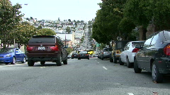 Long Shot into Castro Street - stock footage