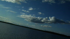 Time Lapse, Lake and Clouds (dutch) Stock Footage