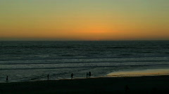Pacific Sunset Stock Footage