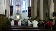 Stock Video Footage of Catholic Church Mexico nuns sing prayer HD