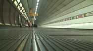 Stock Video Footage of Subway station with sound HD 1080i
