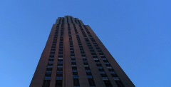 Rockefeller tower Stock Footage