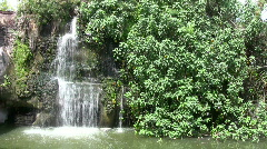 Waterfall jungle HD Stock Footage