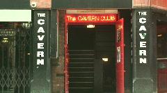 Cavern Club Liverpool. HD 1080i Stock Footage