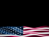US Flag Lower 3rd 06 2997 Stock Footage