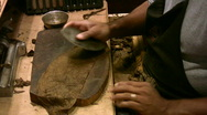Stock Video Footage of Cigar rolling custom made HD