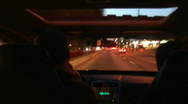 Jm170-City Drive-No Stops Stock Footage