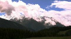 Mountain range Stock Footage