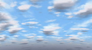 Stock Video Footage of animated sky in time lapse