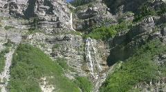 Bridal Vail Falls Utah HD Stock Footage