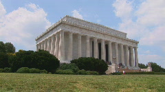 Lincoln Memorial Stock Footage