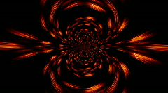Red hot speed streaks and Curves Stock Footage