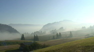 Stock Video Footage of Morning mood at the Seiser Alm
