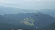 Paraglider in the Dolomites - part 1. Stock Footage