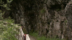 Path through the Dabalklamm Stock Footage