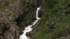 Dabalklamm Waterfalls Stock Footage