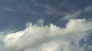 Stock Video Footage of Midday clouds time-lapse 7