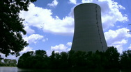 Stock Video Footage of Cooling tower