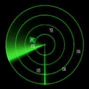 Linear Radar basic - stock footage