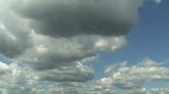 Midday clouds time-lapse 3 - stock footage