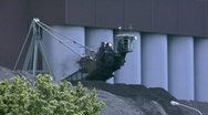 Stock Video Footage of Coal hoisting machine