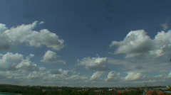 Midday clouds time-lapse 9 - stock footage