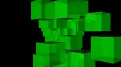 greencubesFINALHD1920x1080 - stock footage