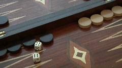 Rolling Dice: 4 and 6 Stock Footage