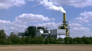 Stock Video Footage of Large industrial complex