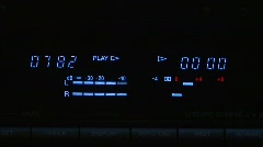 Jm226-VU Meter Stock Footage