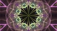 Colourful Kaleidoscope Stock Footage