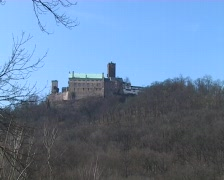 Wartburg: East side view Stock Footage