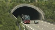 German Autobahn traffic Stock Footage