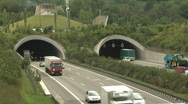 Stock Video Footage of German Autobahn traffic