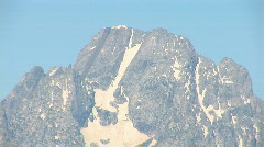 Grand Teton National Park - zoom out Stock Footage