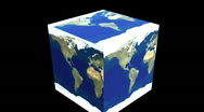 Cubed world Stock Footage
